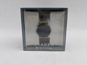 Skagen Falster 2 Gold-Tone Mesh Smartwatch WIFI 4GB (SKT5111)  -TT0749