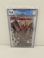 Cable Deadpool Annual #1 Liefeld Variant cover CGC 9.6