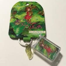 The Borrower Arrietty- playing card key ring Genuine Studio Ghibli Japan