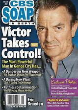 Eric Braeden Gina Tognoni Jack Wagner June 26 2017 CBS Soaps In Depth Magazine