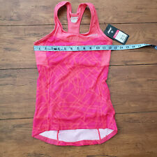 ZOOT Womens XS Performance Tri Top Racerback Pink Static Triathlon Shirt XSmall