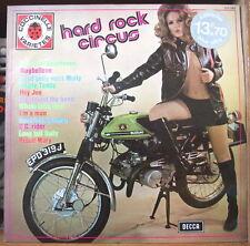 HARD ROCK CIRCUS SUZUKI MOTO SEXY COVER RARE FRENCH LP DECCA COCCINELLE