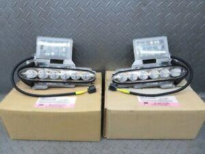 NISSAN GENUINE OEM R35 GT-R GTR SKYLINELED FOG DAY LAMP ASSY  LEFT & RIGHT  SET