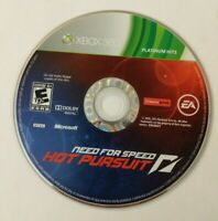 Need for Speed: Hot Pursuit Platinum Hits (Xbox 360) Disc Only - FREE SHIPPING