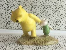 Royal Doulton Winnie The Pooh ''Pooh And Piglet-The Windy Day'' WP2 RD8235