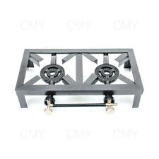 Double Cast Iron LPG Gas Boiling Ring/Burner Catering/Stove/Camping Propane 10KW