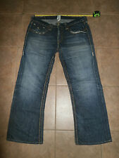 TRUE RELIGION Men's BILLY SUPER T 36 x 30 The Duke USA Made 100% cotton Jeans