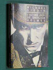 L'ultime défi de Sherlock Holmes Michael DIBBIN