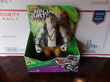 "NIB Teenage Mutant Ninja Turtle Out of the Shadows Rocksteady 11"" Action Figure"