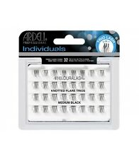 Ardell DURALASH Knotted Flare Trios MEDIUM Individual Lashes Flair Black