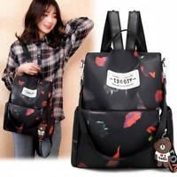 Waterproof Womens Anti-Theft Oxford Cloth Backpack Travel Rucksack Shoulder Bags