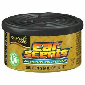 California Scents Car Air Freshner Golden State Delight 42g Fast Posatage!!