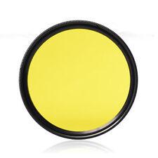 37 40.5 43 46 49 52 55 58 62 67 72 77mm DSLR Camera Lens Color Filter for Canon