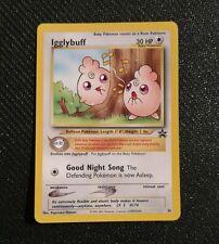 Igglybuff #36 WOTC Black Star promo NM-near mint Pokemon card