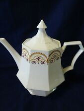VINTAGE INDEPENDENCE  CASTLETON IRONSTONE TEAPOT-MADE IN JAPAN -EXTREME CRAZING-