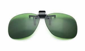 BoroView Shade #3 - Glass Working Spectacles in Plastic Clip on Flip up Lenses