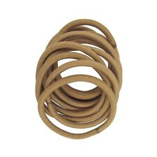 OMYGOD Thick blonde pony hair bands - pack of 10 - diameter: 5cm width: 0.4cm