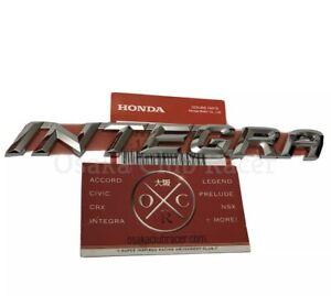 OEM DC5 Honda Integra Rear Emblem JDM Acura RSX Type S R 02-06 03 04 05 NEW Rare