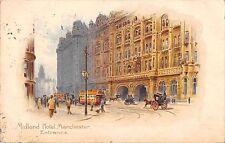 BR67202 midland hotel manchester entrance postcard bus chariot  uk 14x9cm