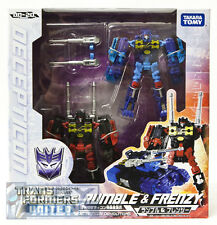 Transformers United UN-20 Rumble & Frenzy Action Figures Takara USA SELLER
