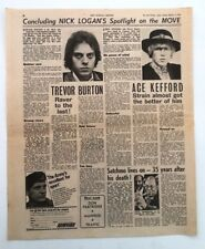 The MOVE  'Ace Kefford & Trevor Burton' 1968 UK ARTICLE / clipping