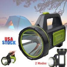 Super Bright Portable Searchlight LED Spotlight Handheld Rechargeable Flashlight