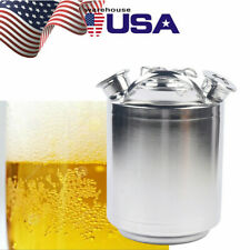 10Liter Beer Cleaning Keg Three-head Beer Cleaning Can Beer Cleaning Barrel Tank