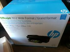 HP Officejet 7612 Wide Format All-In-One Inkjet Printer - Brand New