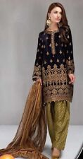 INDIAN /Pakistani WEAR  DESIGNER   Velvet salwar kameez only fabric
