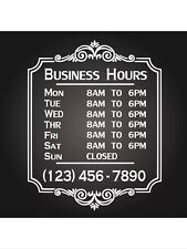 YOUR CUSTOM LETTERING Business Sign Vinyl Sticker Sign Window  28x34