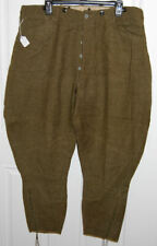 Original WWI US Army Doughboy 1917 Dated Enlisted Wool Breeches Marked Size 42!
