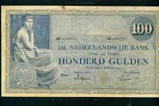 Netherlands 100 gulden 1927 P39 - VF