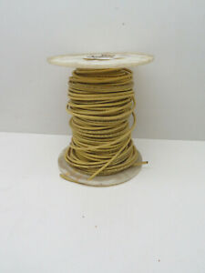 (175ft) 10AWG Yellow THHN THWN MTW Stranded Copper Wire 600V #10 Gauge