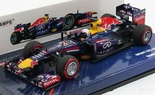 INFINITY RED BULL RACING RB9 VETTEL 2013 WINNER BAHRAIN GP MINICHAMPS 410130201