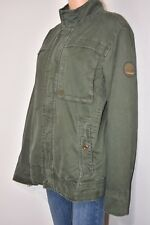 TIMBERLAND MEN'S EARTHKEEPERS COLLECTION JACKET DISTRESS GREEN BOMBER SIZE M