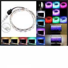 Ruban LED SMD 5050 30 LED RGB 3W 50 cm Multicouleur pour TV Télévision 20 modes