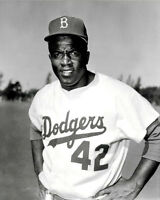 Jackie Robinson #1 Photo 8x10 - Brooklyn Dodgers