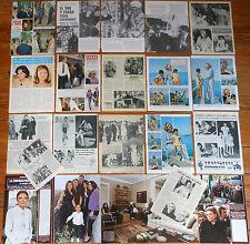 FARAH DIBA PAHLEVI & SHA OF PERSIA spanish clippings 1960s/00s photos Iran Reza
