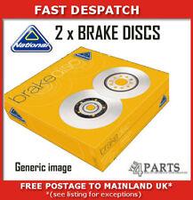 FRONT BRAKE DISCS  NBD1118