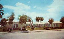 Lantana Lodge Motel Ocean Avenue Lantana Florida Retro Postcard - Scarce