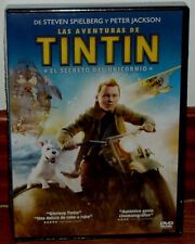 TINTIN EL SECRETO DEL UNICORNIO DVD PRECINTADO NUEVO ANIMACION (SIN ABRIR) R2