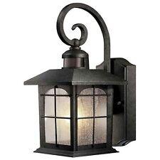 Outdoor Porch Wall Lantern Motion Sensor Activated Light Lighting Lamp Fixture