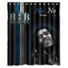 New Fabric Bath Curtain Bob Marley Custom Shower Curtain 60x72 Inch