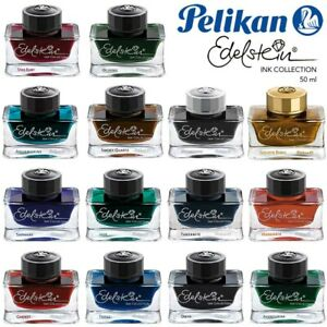 Pelikan Tintenglas Edelstein 50 ml Tintenfass Flakon Schreibtinte Tinte Auswahl