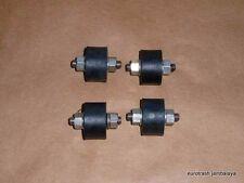 NORTON 750 850 COMMANDO STAINLESS Isolastic Muffler MOUNT SET 06-0622 X4