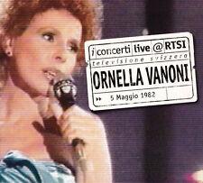 1/219 - Ornella Vanoni - i concerti live @RTSI - 5 Maggio 1982 - CD NUOVO