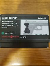 Crimson Trace Lg-639G for Glock generation 3, 4 & 5 for Glock 19 & other models