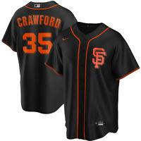 2020 San Francisco Giants Brandon Crawford Nike Alternate Replica Team Jersey