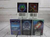 Cassette Tape Lot JOURNEY Evolution Departure Escape Frontiers Radio Rock x5