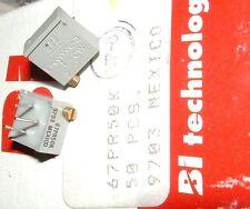 10 x BI TECHNOLOGIES 67PR50K 50K 20 GIRO trimero Potenziometro regolazione laterale